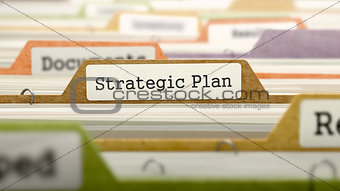 Folder in Catalog Marked as Strategic Plan.