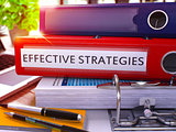 Red Ring Binder with Inscription Effective Strategies.