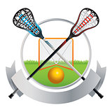 Lacrosse Emblem and Banner Design