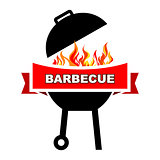 BBQ label design.