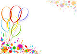 Colored Party Balloons