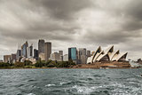 Sydney on a cloudy day