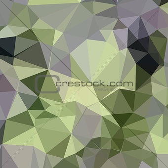 Asparagus Green Abstract Low Polygon Background