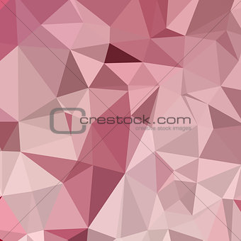 Carnation Pink Abstract Low Polygon Background