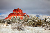 Red Rocks under snow