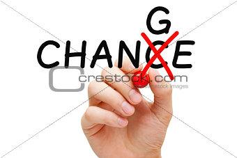 Change Chance Concept