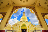 Temple in Yangon Myanmar