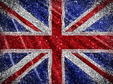Glittery Union Jack Flag background