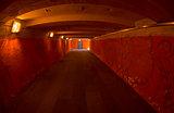 Empty Underpass.