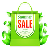 Summer Sale Shopping Bag
