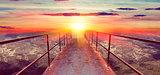 sunset and Gateway