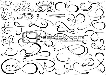 Calligraphic Shapes Collection