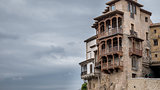 The famous hanging houses in Cuenca