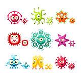 Bacteria And Virus Fun Set