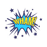 Wham Comic Speech Bubble
