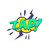 Zap Comic Speech Bubble