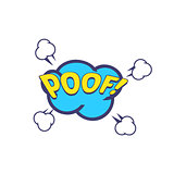 Poof Comic Speech Bubble