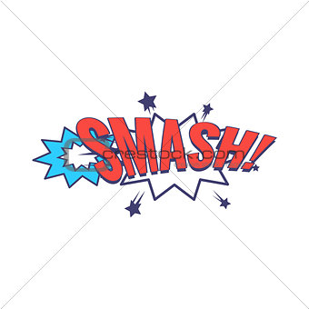 Smash Comic Speech Bubble