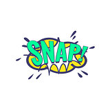 Snap Comic Speech Bubble