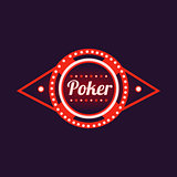 Poker Red Neon Sign