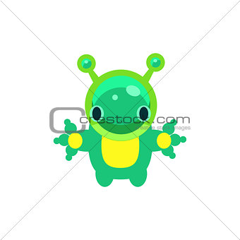 Alien Jelly Toy