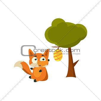 Fox And Beehive