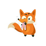Fox Eating Rabbit