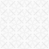 Geometric ornamental pattern - seamless