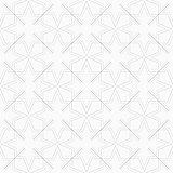 Geometric ornamental pattern - seamless