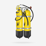 Vector Oxygen Cylinder Diving