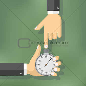 Time management illustration