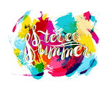 Stereo Summer on Spot Background