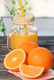 Orange, Lobule, Half, Juice. Healthy Lifestyle Concept