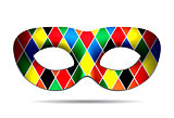 Beautiful Harlequin mask