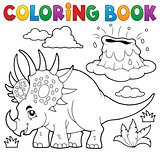 Coloring book dinosaur topic 2