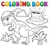 Coloring book dinosaur topic 5