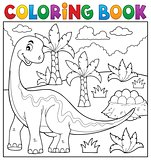 Coloring book dinosaur topic 6