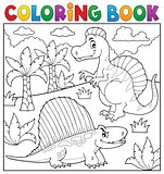 Coloring book dinosaur topic 7