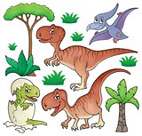 Dinosaur topic set 1