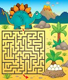 Maze 3 with dinosaur theme 1