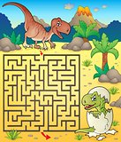 Maze 3 with dinosaur theme 2