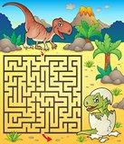 Maze 3 with dinosaur theme 2