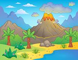 Prehistoric theme landscape 1