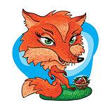 art animals red fox