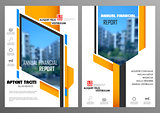 Annual Report and Presentation Template design