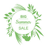 Big Summer Sale Banner.