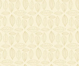 Vector Hand drawn seamless pattern with leaf