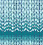 Vector knit seamless pattern