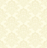 Vector damask seamless pattern beige