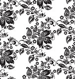 Vector Abstract elegance seamless pattern
